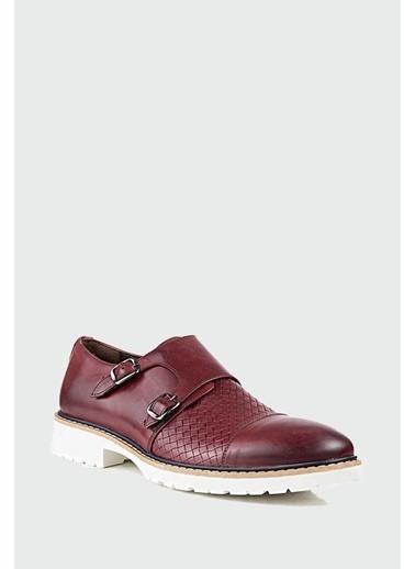 D'S Damat Ayakkabı Bordo